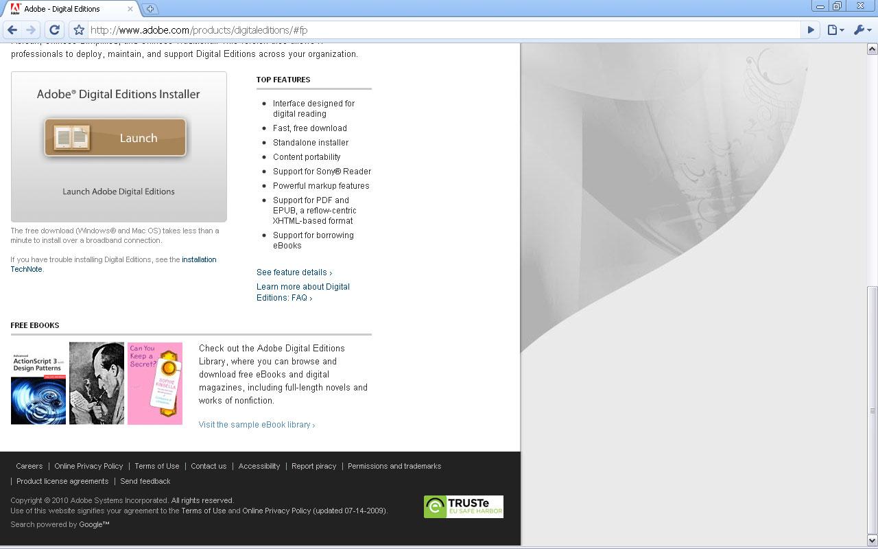 jetBook - Adobe Digital Editions DRM Help